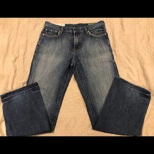 Gap straight leg jeans, Adult Medium (34x32)